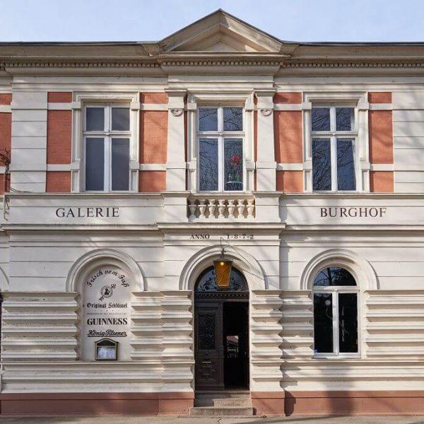 Galerie Burghof | Restaurant & Biergarten in Düsseldorf - Außenansicht